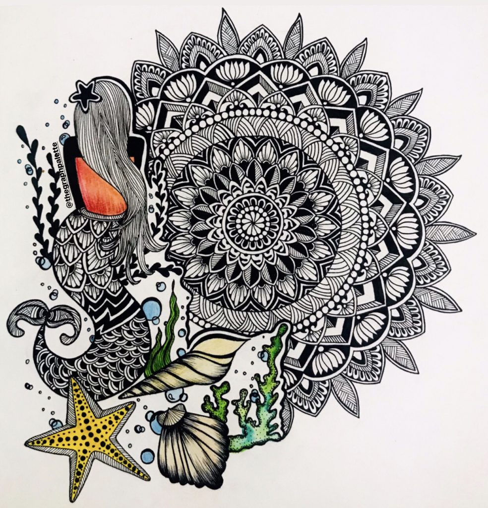 ONE PAGE SPOTLIGHT WORKSHOP SERIES : THE THERAPEUTIC ZENTANGLE ART FORM BY AISHANI DHAWAN