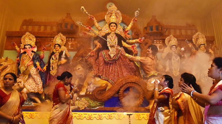 The Magnificence of Dussehra Across Two States